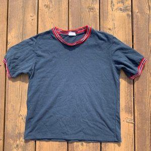 Brandy Melville navy t shirt